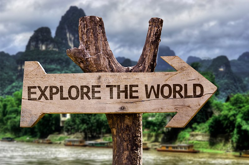 Como escolher um destino e organizar uma viagem para o exterior - Ingles Falado